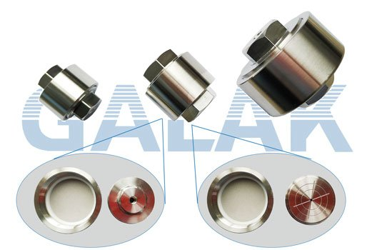 GALAK in-line filters for preparative HPLC column